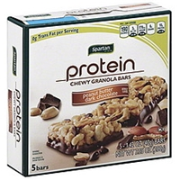 Spartan Granola Bars Chewy, Protein, Peanut Butter Dark Chocolate Food Product Image