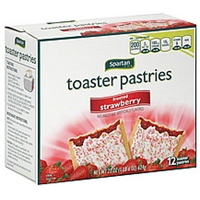 Spartan Toaster Pastries Frosted Strawberry Food Product Image