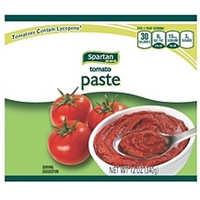 Spartan Tomato Paste Food Product Image