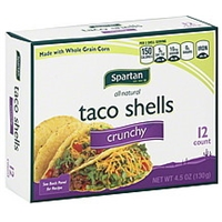 Spartan Taco Shells Crunchy Food Product Image