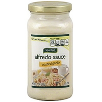 Spartan Alfredo Sauce Roasted Garlic Food Product Image