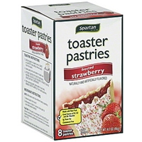 Spartan Toaster Pastries Frosted, Strawberry Food Product Image