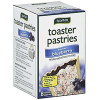 Spartan Toaster Pastries Frosted, Blueberry Food Product Image