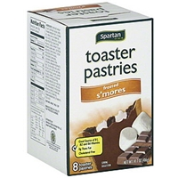 Spartan Toaster Pastries Frosted, S'mores Food Product Image