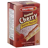 Valu Time Toaster Pastries Frosted Cherry Food Product Image