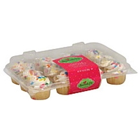 Sweet P's Cupcakes Vanilla Food Product Image