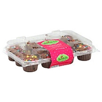 Sweet P's Cupcakes Chocolate Food Product Image