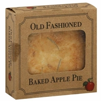 Old Fashioned Baked Apple Pie Food Product Image