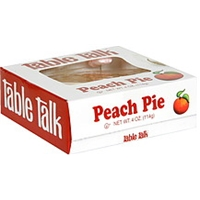 Table Talk Peach Pie Food Product Image