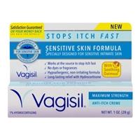 Vagisil Sensitive Skin Formula Anti Itch Creme Food Product Image