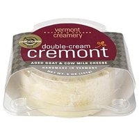 Vermont Butter & Cheese Creamery Cheese (Soft/Cream) Double<Cream Cremont Aged Goat & Cow Milk Cheese Food Product Image