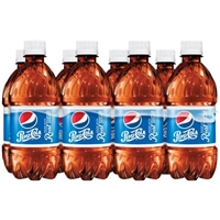 Pepsi-Cola Made With Real Sugar - 8 PK Food Product Image
