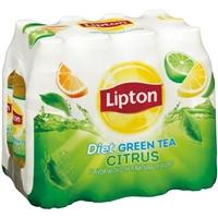 Lipton Diet Citrus Green Tea- 12 PK Food Product Image