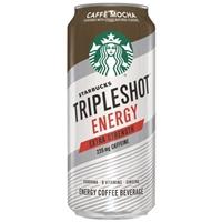 Starbucks Triple Shot Energy Caffe Mocha - 15 fl oz Can Food Product Image