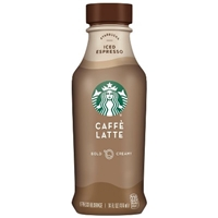 Starbucks Iced Caffe Latte - 14 fl oz Bottle Food Product Image