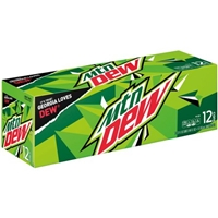 Mtn Dew - 12 Ct Food Product Image
