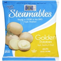 Simply Spuds Steamables Golden Potatoes Food Product Image