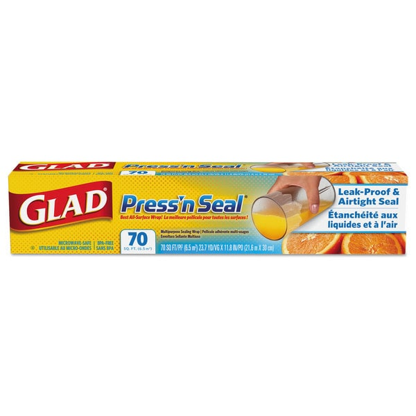 Glad Multipurpose Sealing Wrap Press'n Seal Food Product Image