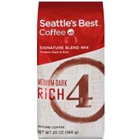 Seattle's Best Level 4 Medium-Dark Ground Coffee Food Product Image