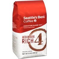 Seattle's Best Coffee Ground Medium-Dark & Rich Signature Blend No. 4 Food Product Image