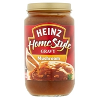 Heinz Gravy Homestyle Rich Mushroom Food Product Image