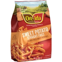 Ore-Ida Sweet Potato French Fries Straight Food Product Image