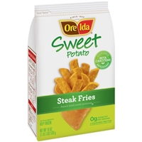 Ore-Ida Sweet Potato French Fries Steak Food Product Image