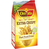 Ore-Ida Fast Food Fries Extra Crispy Food Product Image