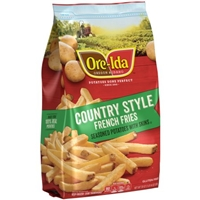 Ore-Ida French Fries Country Style Food Product Image