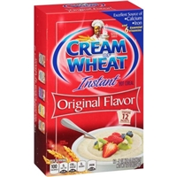 Cream of Wheat Instant Hot Cereal Original Flavor - 12 CT Food Product Image