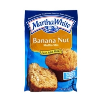 Martha White Banana Nut Muffin Mix Food Product Image