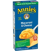 Annie's Homegrown Macaroni & Cheese Food Product Image