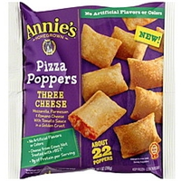 Annies Pizza Poppers Three Cheese Food Product Image