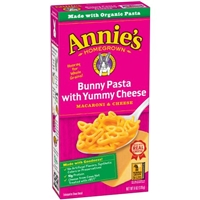 Annie's Homegrown Bunny Pasta with Yummy Cheese Macaroni & Cheese Food Product Image
