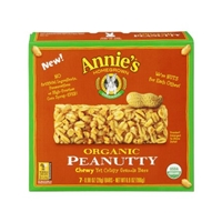 Annie's Homegrown Organic Granola Bars Organic Peanutty - 7 CT Food Product Image