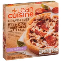Lean Cuisine Craveables Deep Dish Three Meat Pizza Food Product Image