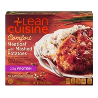 Lean Cuisine Comfort Meatloaf With Mashed Potatoes Food Product Image
