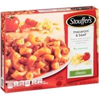 Stouffer's Classics Macaroni & Beef Food Product Image