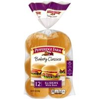 Pepperidge Farm Classic Sliders Mini Buns - 12 CT Food Product Image