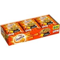 Pepperidge Farm Flavor Blasted Xtra Cheddar Goldfish Crackers Food Product Image