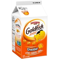 Pepperidge Farm Goldfish Cheddar Snack Crackers Food Product Image
