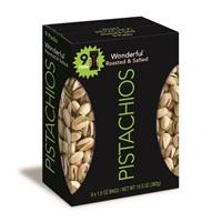 Wonderful Pistachios Rstd Sltd 9/1.5oz Food Product Image