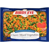Birds Eye Select Vegetables Classic Mixed Vegetables Food Product Image