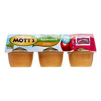 Mott's Natural Applesauce - 6 Ct Food Product Image