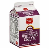 Meadow Gold Whipping Cream Food Product Image