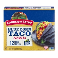 Garden of Eatin' Blue Corn Taco Shells - 12 CT Food Product Image