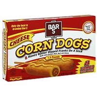 Bar S Corn Dogs Cheese, Jumbo Food Product Image
