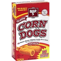 Bar S Corn Dogs Value Pack Food Product Image