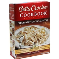 Betty Crocker Chicken Fettuccine Alfredo Food Product Image