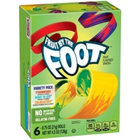 Betty Crocker Fruit By The Foot Fruit Flavored Snacks - 6 CT Food Product Image